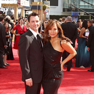 John Larusso, Carrie Ann Inaba in The 62nd Annual Primetime Emmy Awards