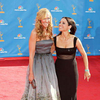 Toni Collette, Julia Louis-Dreyfus in The 62nd Annual Primetime Emmy Awards