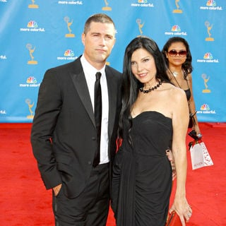 Matthew Fox, Margherita Ronchi in The 62nd Annual Primetime Emmy Awards