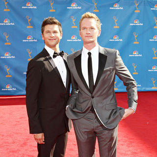 David Burtka, Neil Patrick Harris in The 62nd Annual Primetime Emmy Awards