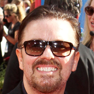 Ricky Gervais in The 62nd Annual Primetime Emmy Awards