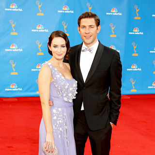 Emily Blunt, John Krasinski in The 62nd Annual Primetime Emmy Awards