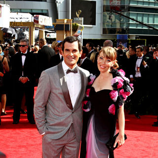 Ty Burrell, Holly Burrell in The 62nd Annual Primetime Emmy Awards