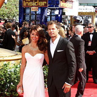 Brooke Burke, David Charvet in The 62nd Annual Primetime Emmy Awards