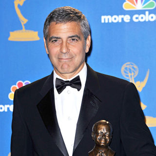 George Clooney in The 62nd Annual Primetime Emmy Awards - Press Room