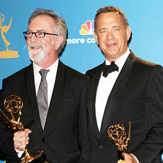 Tom Hanks in The 62nd Annual Primetime Emmy Awards - Press Room