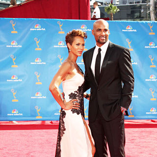 Nicole Ari Parker, Boris Kodjoe in The 62nd Annual Primetime Emmy Awards