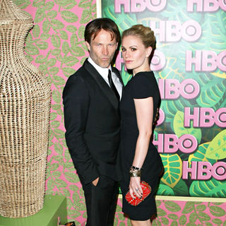 Stephen Moyer, Anna Paquin in HBO's 62nd Annual Primetime Emmy Awards After Party - Arrivals