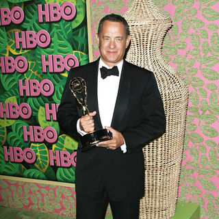 Tom Hanks in HBO's 62nd Annual Primetime Emmy Awards After Party - Arrivals