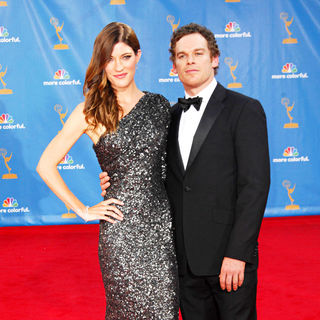 Jennifer Carpenter, Michael C. Hall in The 62nd Annual Primetime Emmy Awards