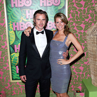 Sam Trammell, Missy Yager in HBO's 62nd Annual Primetime Emmy Awards After Party - Arrivals