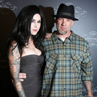 Kat Von D, Jesse James in TWO WORLDS OF ART Collide at The Debut of Kat Von D's Wonderland Gallery