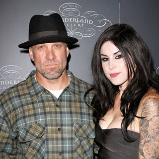 Jesse James, Kat Von D in TWO WORLDS OF ART Collide at The Debut of Kat Von D's Wonderland Gallery