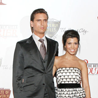 Scott Disick, Kourtney Kardashian in Beverly Hills Mayor Jimmy Delshad Presents The Key to The City of Beverly Hills