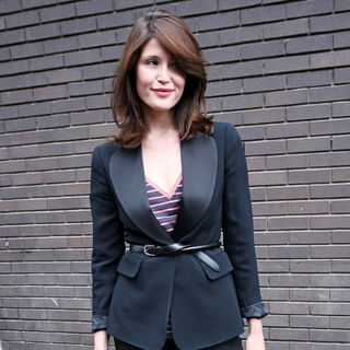 Gemma Arterton in Gemma Arterton Leaving The ITV studios