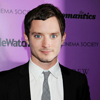 Elijah Wood in Cinema Society Screening of 'The Romantics' - Inside Arrivals