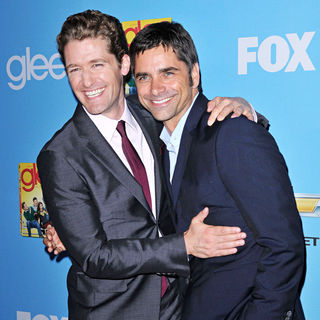 Matthew Morrison, John Stamos in The 'Glee: Season 2' Premiere and DVD Release Party