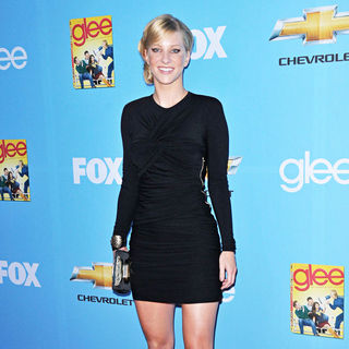 Heather Morris in The 'Glee: Season 2' Premiere and DVD Release Party - wenn2991338