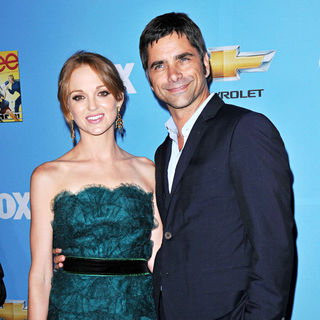 Jayma Mays, John Stamos in The 'Glee: Season 2' Premiere and DVD Release Party
