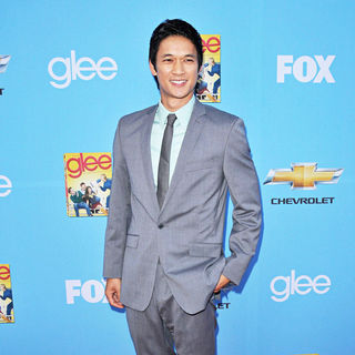 Harry Shum Jr. in The 'Glee: Season 2' Premiere and DVD Release Party