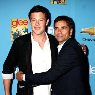 Cory Monteith, John Stamos in The 'Glee: Season 2' Premiere and DVD Release Party