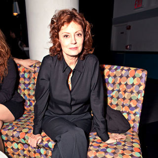 Susan Sarandon in Spin Charity Event for Haiti