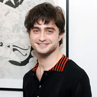Daniel Radcliffe - The Big Issue: Lizzie Mary Cullen - Private View