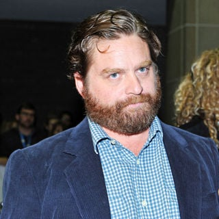Zach Galifianakis - The Premiere of 'It's Kind of a Funny Story' During The 35th Toronto International Film Festival
