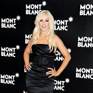 Christina Aguilera in Global Launch of The Montblanc John Lennon Edition