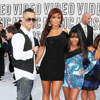 The Situation, JWoww, Snooki in The 2010 MTV Video Music Awards (MTV VMAs) - Arrivals