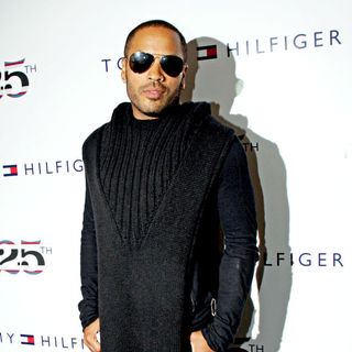 Lenny Kravitz in Tommy Hilfiger 25th Anniversary Celebration