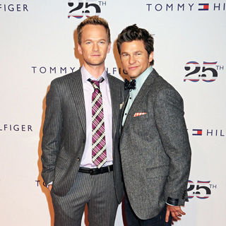Neil Patrick Harris, David Burtka in Tommy Hilfiger 25th Anniversary Celebration