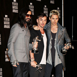 30 Seconds to Mars in The 2010 MTV Video Music Awards (MTV VMAs) - Press Room