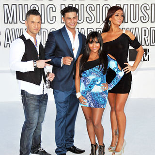 The Situation, DJ Pauly D, Snooki, JWoww in The 2010 MTV Video Music Awards (MTV VMAs) - Arrivals