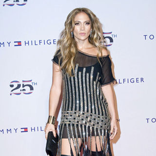 Jennifer Lopez in Tommy Hilfiger 25th Anniversary Celebration