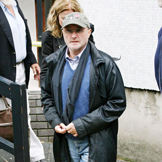 Phil Collins in Phil Collins Outside The ITV Studios