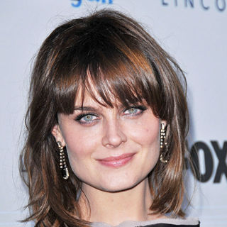 Emily Deschanel in FOX's 2010 Fall Eco-Casino Party