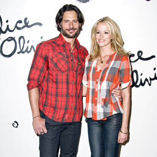 Joe Manganiello, Audra Marie in Mercedes-Benz IMG New York Fashion Week Spring/Summer 2011 - Alice + Olivia Presentation - Arrivals
