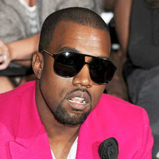 Kanye West in Mercedes-Benz IMG New York Fashion Week Spring/Summer 2011 - 3.1 Phillip Lim - Front Row