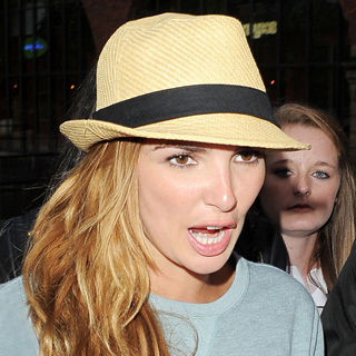 Nadine Coyle in Nadine Coyle Visits Key 103 Radio in Manchester