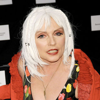 Debbie Harry in Mercedes-Benz IMG New York Fashion Week Spring/Summer 2011 - LAMB - Front Row