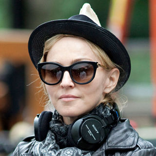 Madonna Filming on Location for Her New Movie 'W.E.'