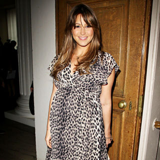 Rachel Stevens in London Fashion Week Spring/Summer 2011 - Julien Macdonald - Front Row