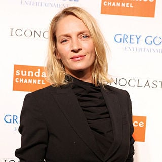 Uma Thurman in Grey Goose Entertainment Celebrates Sundance Channel's Fifth Season of 'Iconoclasts'