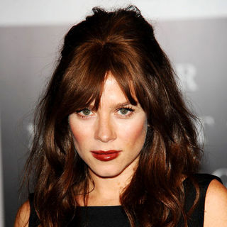 Anna Friel in Launch Party of 'Your Moment Is Waiting'