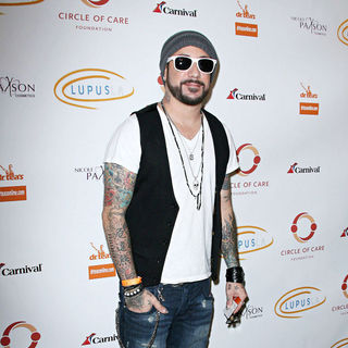 A.J. McLean, Backstreet Boys in Lupus LA Hosts The 2nd Annual 'Get Lucky For Lupus' Event