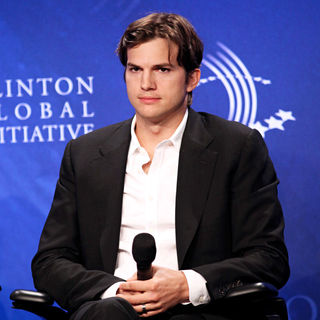 Ashton Kutcher - Clinton Global Initiative 2010