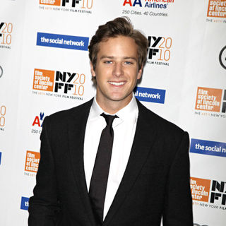 Armie Hammer in The 48th New York Film Festival - 'The Social Network' Premiere - Arrivals