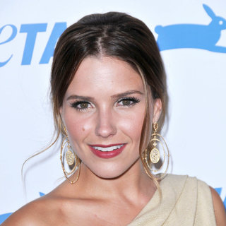 Sophia Bush in The PETA's 30th Anniversary Gala And Humanitarian Awards