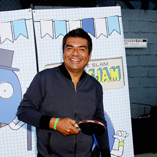 George Lopez in The 2010 'Ultimate Slam PaddleJam' Celebrity Ping Pong Tournament
